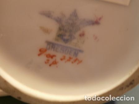 Antigüedades: Jarron porcelana de Dresden - Foto 2 - 73852023