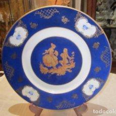 Antigüedades: PLATO DE PORCELANA LIMOGES. 27 CMS DIÁMETRO.. Lote 73915255