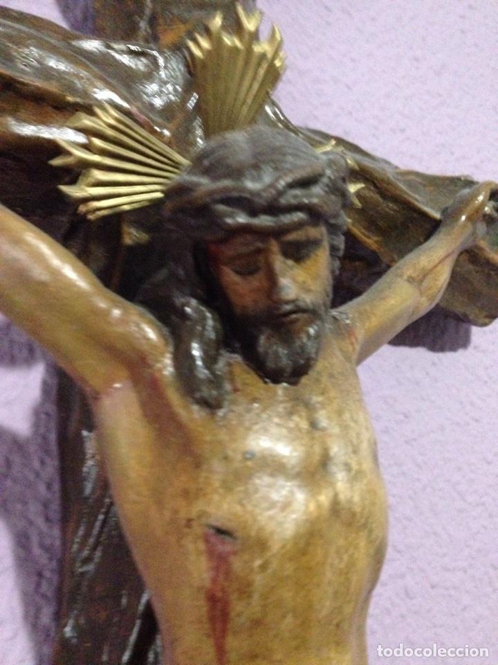 Antigüedades: Cristo , Crucifijo , talla , crucificado , Semana Santa , Cristo antiguo - Foto 2 - 73921918