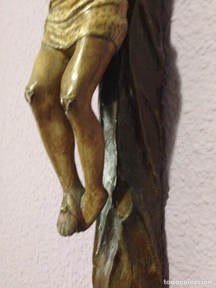Antigüedades: Cristo , Crucifijo , talla , crucificado , Semana Santa , Cristo antiguo - Foto 3 - 73921918