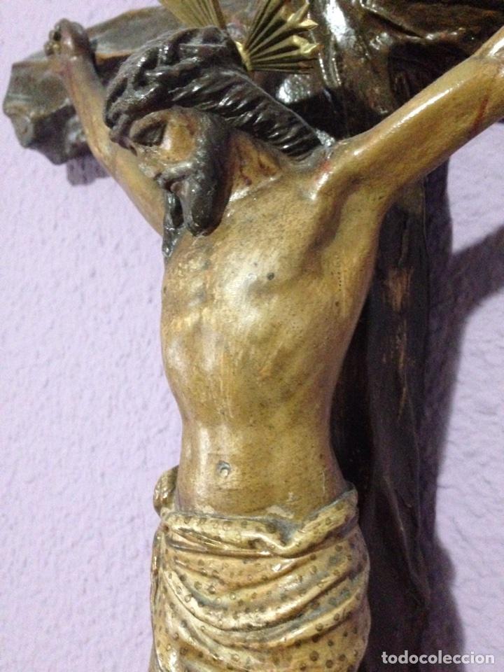 Antigüedades: Cristo , Crucifijo , talla , crucificado , Semana Santa , Cristo antiguo - Foto 4 - 73921918