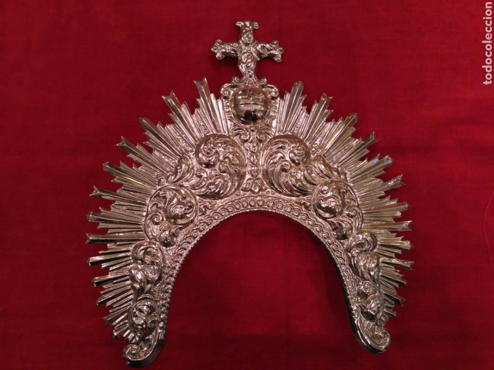 DIADEMA DE VIRGEN DORADA (NUEVO) (Antigüedades - Religiosas - Varios)