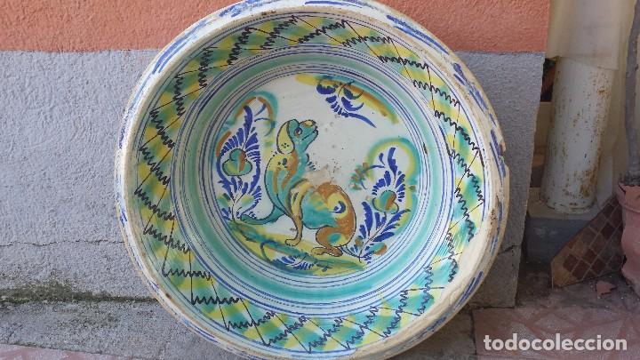 ANTIGUO LEBRILLO DE TRIANA, SLGLO IXX, PRECIOSO (Antigüedades - Porcelanas y Cerámicas - Triana)