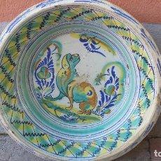 Antigüedades: ANTIGUO LEBRILLO DE TRIANA, SLGLO IXX, PRECIOSO. Lote 73956771