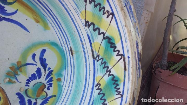 Antigüedades: antiguo lebrillo de triana, slglo ixx, precioso - Foto 4 - 73956771