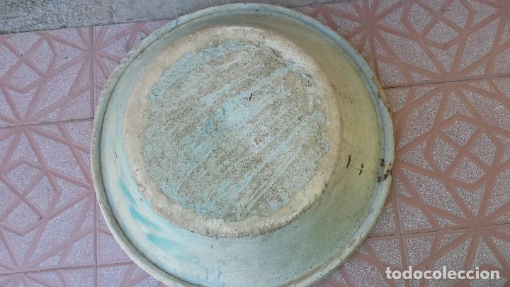 Antigüedades: antiguo lebrillo de triana, slglo ixx, precioso - Foto 5 - 73956771