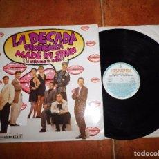 Discos de vinilo: LA DECADA PRODIGIOSA MADE IN SPAIN MAXI SINGLE VINILO FESTIVAL EUROVISION AÑO 1988 VERSION LARGA. Lote 73959915