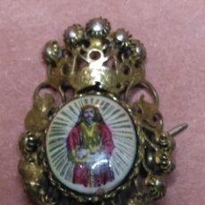 Antigüedades: CRISTO NAZARENO MEDINACELI MADRID MEDALLA ESMALTE ORIGINAL ESMALTADO AÑOS 50 NUNCA USADO . Lote 73960423