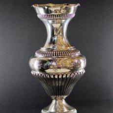 Antigüedades: JARRON EN PLATA LEY MARCADO CON CONTRASTE 833/1000. Lote 73962403