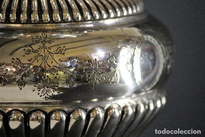 Antigüedades: JARRON EN PLATA LEY MARCADO CON CONTRASTE 833/1000 - Foto 9 - 73962403