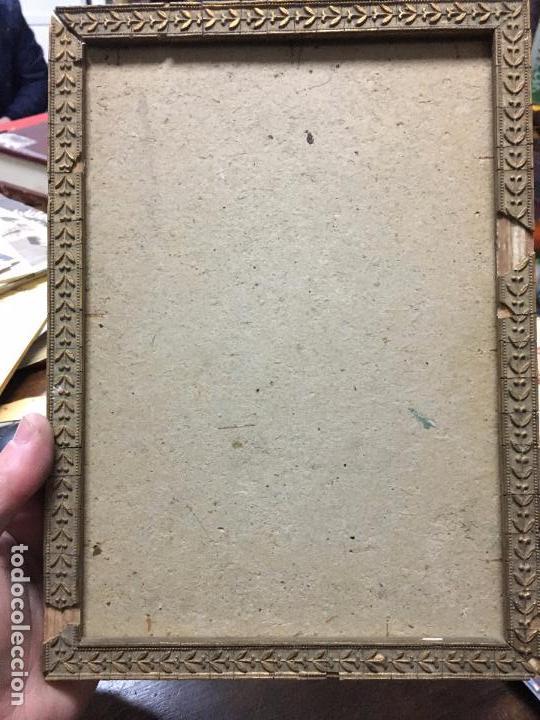antiguo marco para foto de madera y dorado - me - Comprar Marcos ...