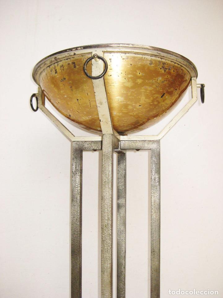 Antigüedades: UNICA! PILA BAUTISMAL ORIGINAL DE IGLESIA CAPILLA ESTILO ART DECO BAPTISTERIO - Foto 5 - 74095751