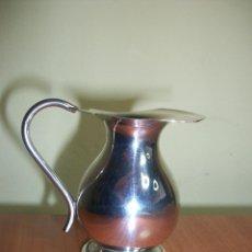 Antigüedades: JARRITA DE MISA, ALPACA MARCADA. Lote 56001113