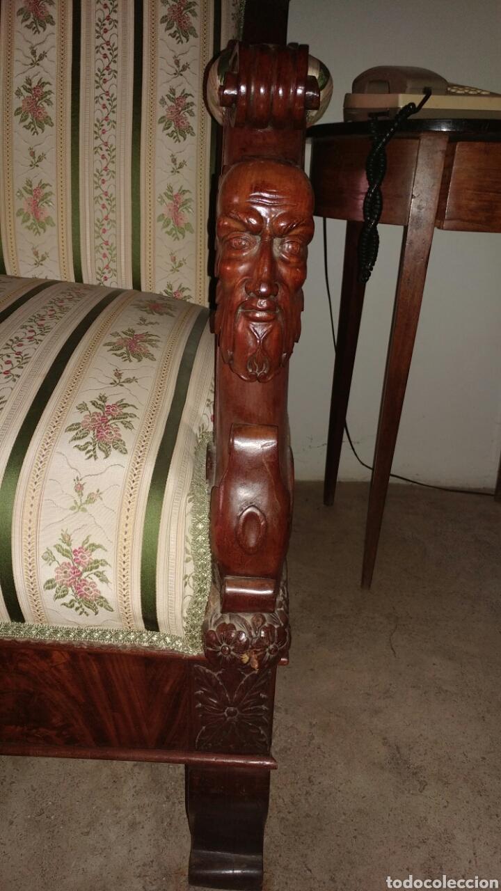 "Antigüedades: Sofa fernandino ""imperio"" s.xix. - Foto 2 - 74155186"