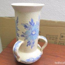 Antigüedades: BONITO JARRON DE TRES ASAS. Lote 74243379