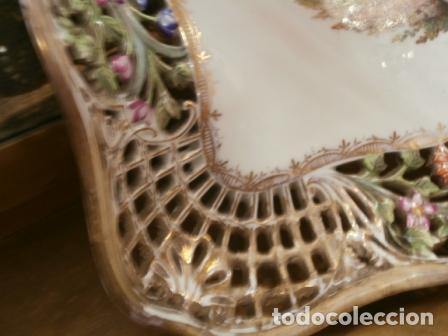 Antigüedades: Vajilla de porcelana MEISSEN (5 Piezas ) Haga utd. su mejor OFERTA - Foto 2 - 74291695