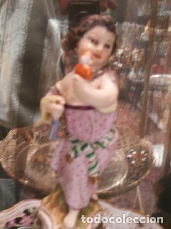 Antigüedades: Vajilla de porcelana MEISSEN (5 Piezas ) Haga utd. su mejor OFERTA - Foto 3 - 74291695