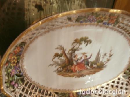 Antigüedades: Vajilla de porcelana MEISSEN (5 Piezas ) Haga utd. su mejor OFERTA - Foto 4 - 74291695