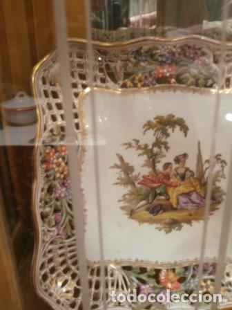 Antigüedades: Vajilla de porcelana MEISSEN (5 Piezas ) Haga utd. su mejor OFERTA - Foto 5 - 74291695