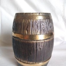 Antigüedades: TONEL DE BRONCE. Lote 74308627