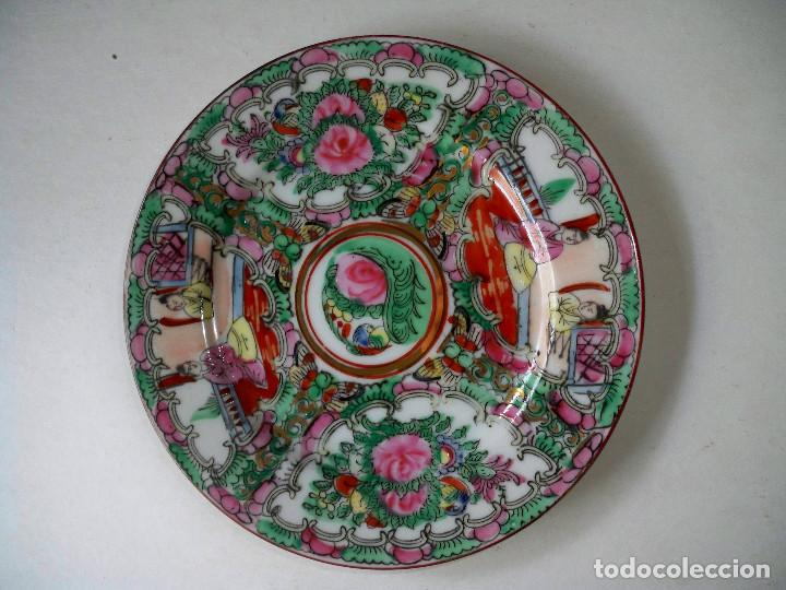 PLATO CHINO PORCELANA CHINA ORIENTAL SELLADO 16CM (Antigüedades - Porcelanas y Cerámicas - China)