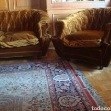 Antigüedades - Tresillo Chéster - 74365042