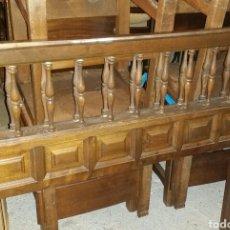 Antigüedades: CABECEROS DE CAMA CASTELLANOS.. Lote 74495090