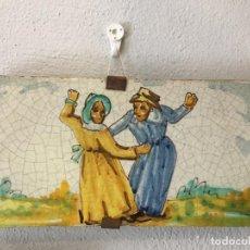 Antigüedades: AZULEJO VALENCIANO SIGLO XIX. Lote 74562291