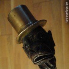 Antigüedades: CURIOSO BASTON DE COLECCION. Lote 74577343