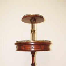 Antigüedades: MESA AUXILIAR ANTIGUA ESTILO IMPERIO. Lote 74595943