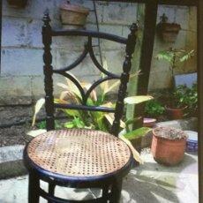 Antigüedades: SILLA MADERA TORNEADA ANTIGUA.. Lote 74620731