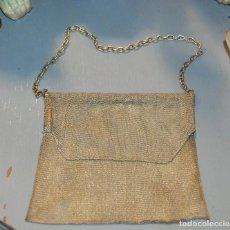 Antigüedades: ANTIGUO BOLSITO DE MALLA DORADA. Lote 74621771