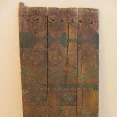 Antiquitäten: ANTIGUA PUERTA BEREBER AUTÉNTICA. POLICROMADA.. Lote 74628067