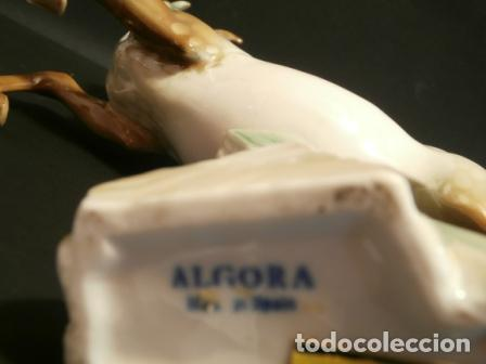 Antigüedades: Caballo de porcelana ALGORA - Foto 2 - 74654651