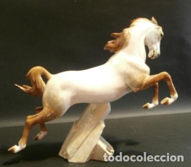 Antigüedades: Caballo de porcelana ALGORA - Foto 3 - 74654651