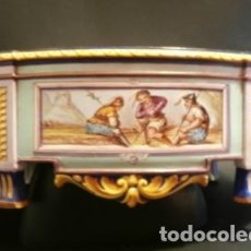 Antigüedades: JARDINERA PORCELANA J. VIEILLARD -1829-1895. Lote 74655843