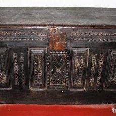 Antigüedades: GRAN ARCÓN. NORTE DE ESPAÑA. MADERA DE ROBLE. BARROCO. SIGLO XVII-XVIII.. Lote 74673931