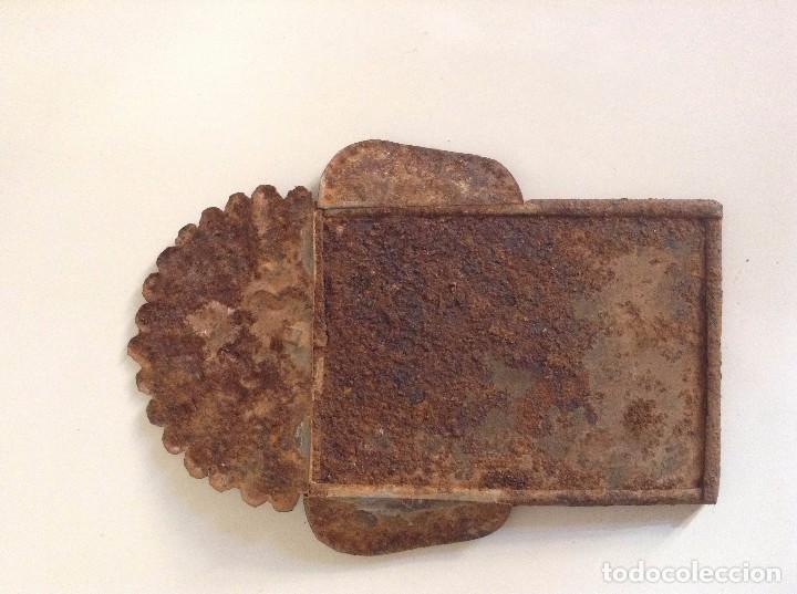 Antigüedades: Marco antiguo imagen religiosa - Foto 2 - 74840883