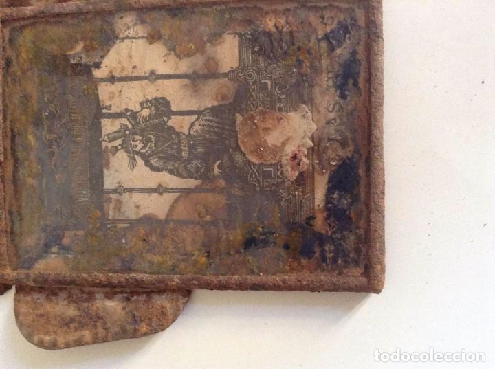 Antigüedades: Marco antiguo imagen religiosa - Foto 3 - 74840883