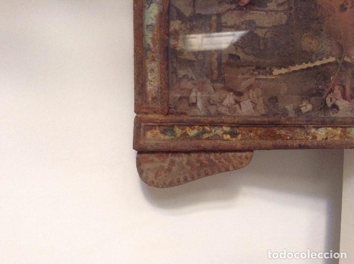 Antigüedades: Marco antiguo imagen religiosa - Foto 2 - 74841451