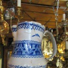 Antigüedades: JARRA DE CERÁMICA DE MANISES. Lote 74880539