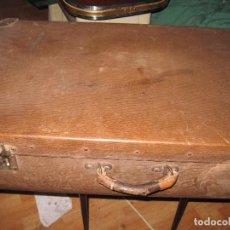 Antigüedades: MALETA ANTIGUA CONSERVACION BASTANTE BIEN. Lote 74882339