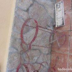 Antigüedades: ANTIGUO PALANGANERO DE HIERRO. Lote 74913087