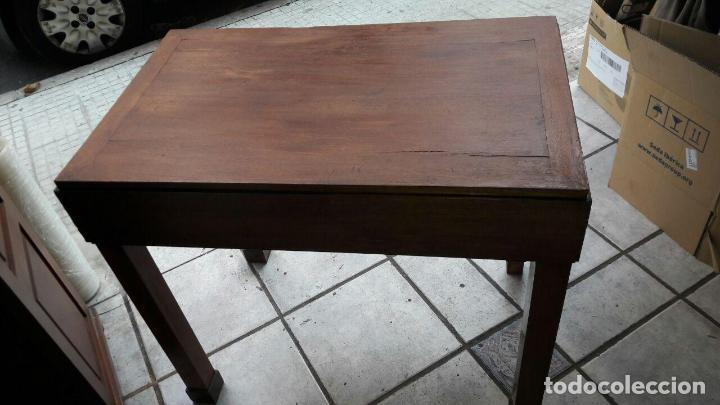 Antiquitäten: ANTIGUA MESA ROBLE MACIZA - Foto 7 - 74913587
