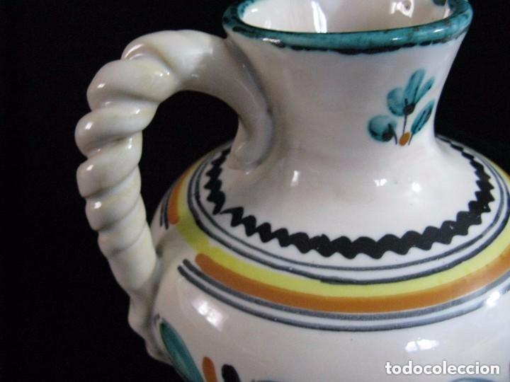Antigüedades: JARRA FIRMADA PUENTE DEL ARZOBISPO TOLEDO - Foto 2 - 74915643
