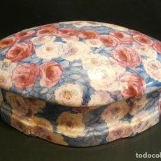 Antigüedades: GRAN CAJA DE PORCELANA DE LIMOGES ART DECO 1930. Lote 74918191
