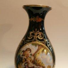 Antigüedades: JARRON EN PORCELANA MS SALVADOR MALLOL. Lote 74925519
