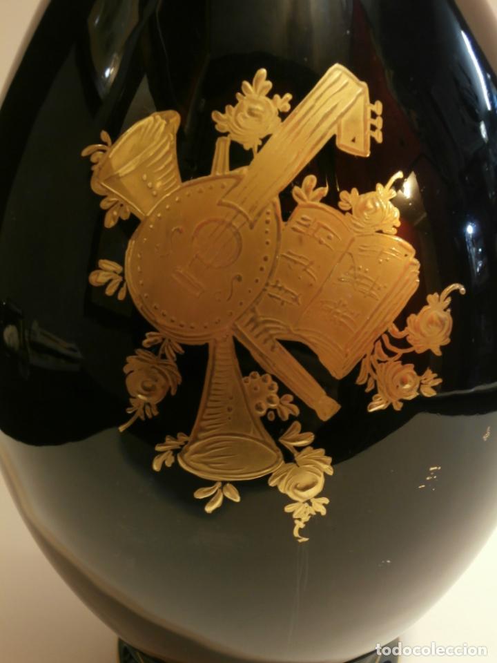 Antigüedades: Jarron en porcelana MS Salvador Mallol - Foto 3 - 74925519
