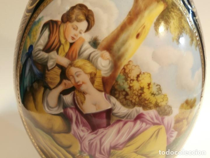 Antigüedades: Jarron en porcelana MS Salvador Mallol - Foto 4 - 74925519