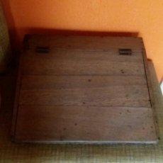 Antigüedades: ANTIGUO ESCRITORIO-PUPITRE SOBREMESA. Lote 74945098